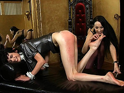 Pain therapy with january seraph Naughty Mandy having her pain therapy with January.